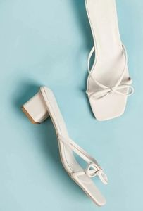 Shein bow mules